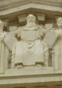 Moses on the SCOTUS facade.
